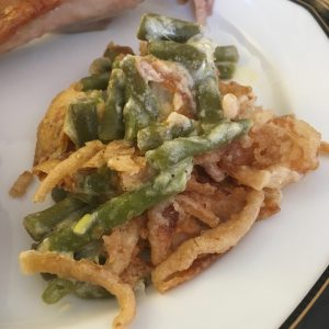 photo of green bean casserole