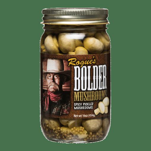 Photo of a jar of Bolder Mushrooms