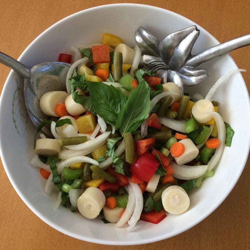 Bolder Beans salad in a bowl