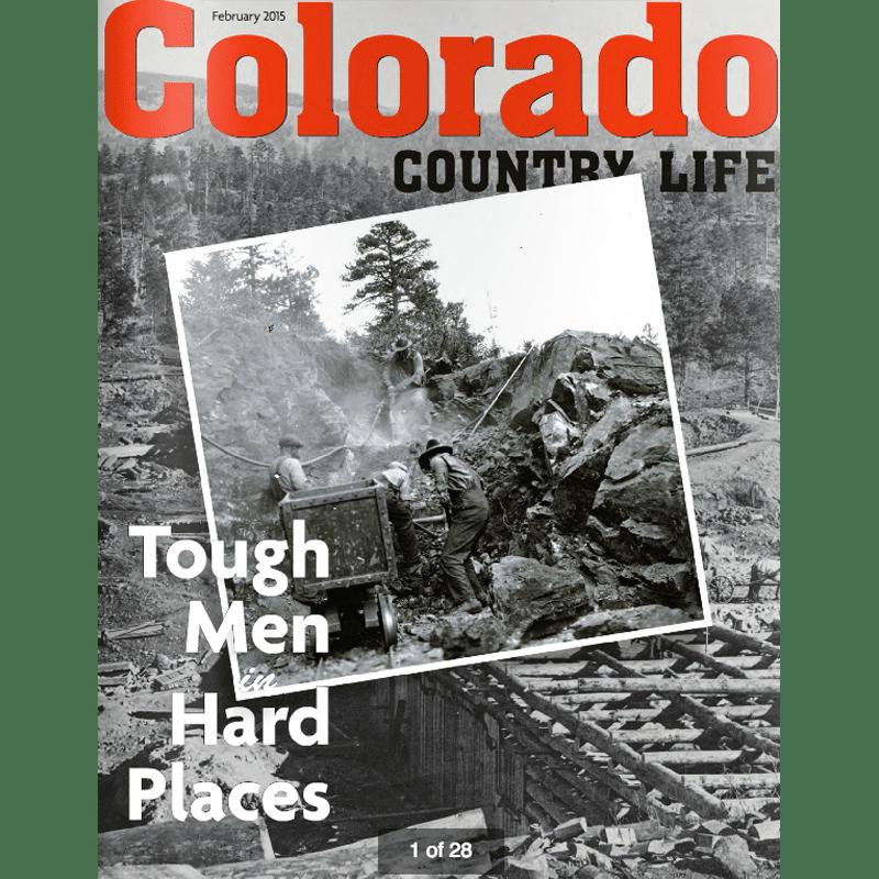 Cover of Colorado Country Life magazine 2015