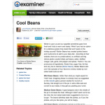 Bolder Beans review in Examiner.com October 2011