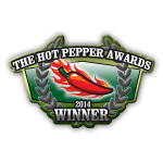 2014 Hot Pepper Awards Winner logo