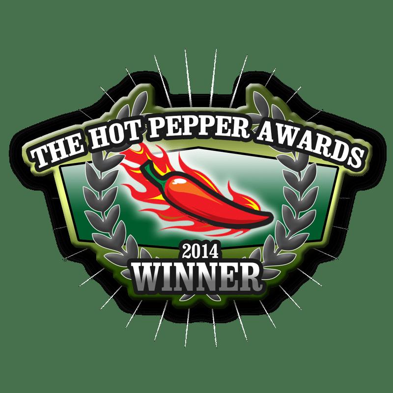 2014 Hot Pepper Awards Winner logo