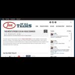 Screenshot of podcast interview with Bolder Beans on JonOfAllTrades.com