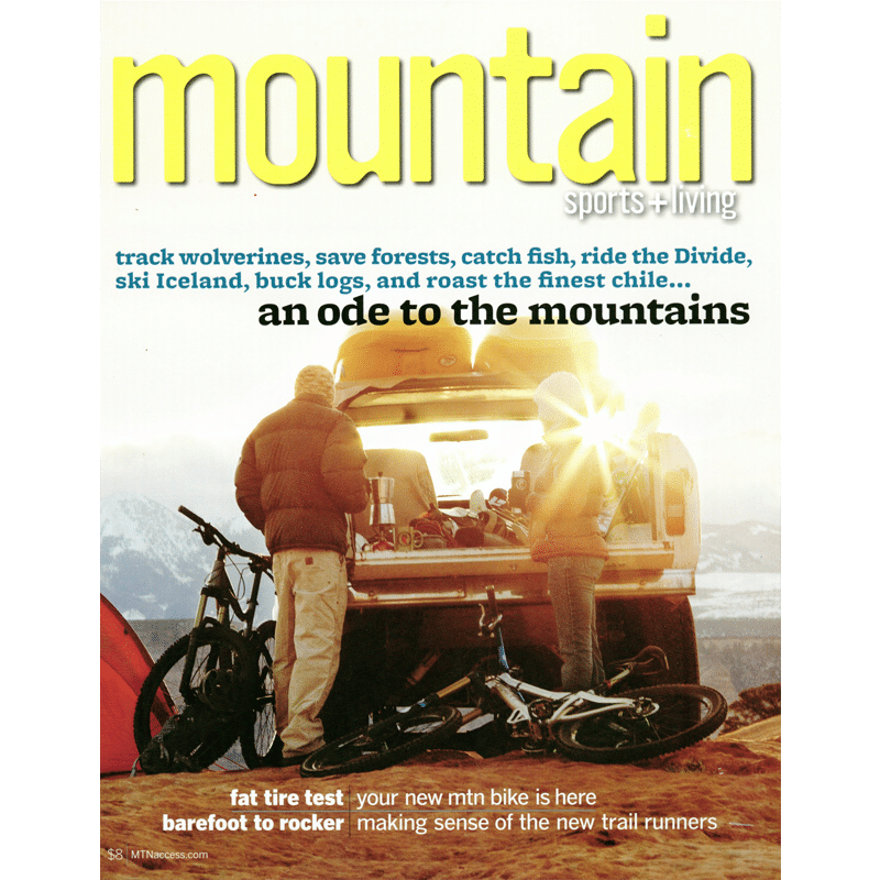Cover of Mountain Magazine 2011