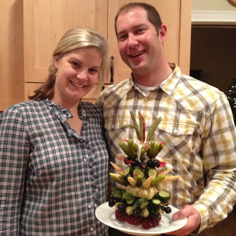 Photo of Olney family holiday pickle tree