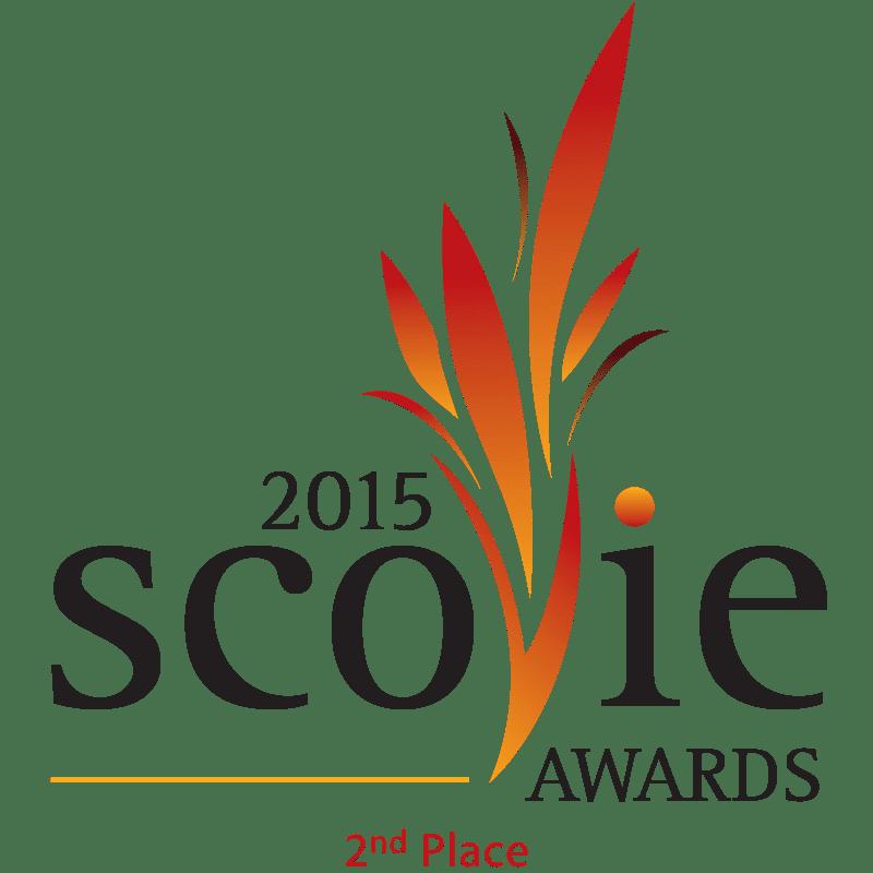 Scovie Awards 2015 2nd Place logo