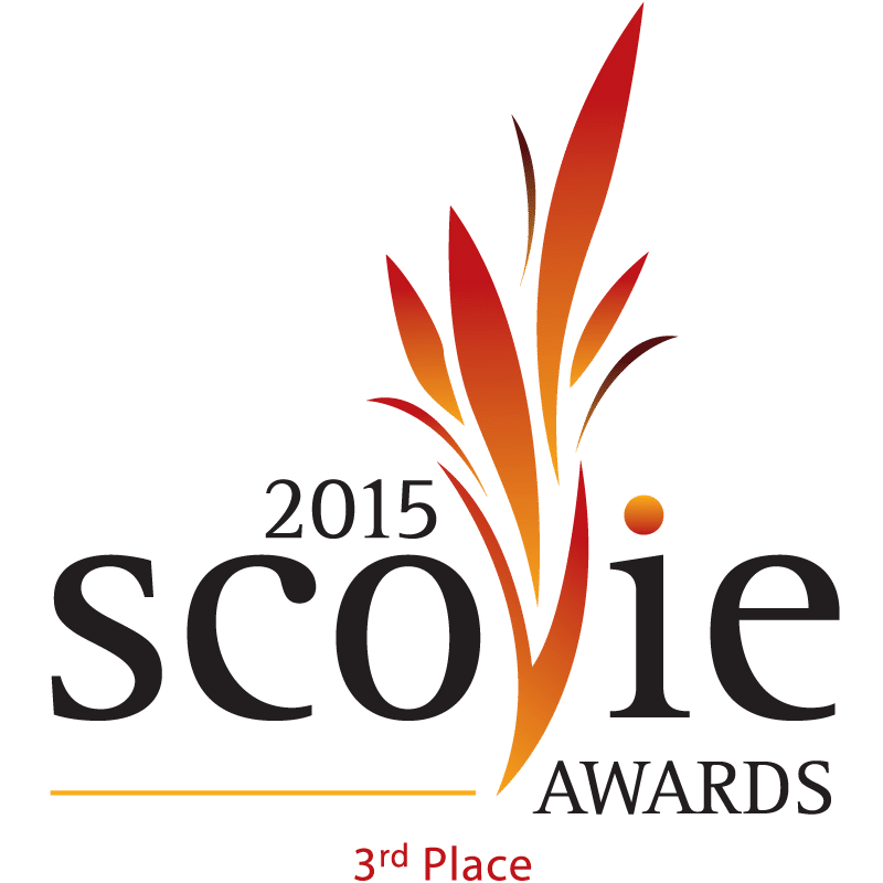 Scovie Awards 2015 3rd Place logo