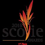1st Place 2016 Scovie Logo