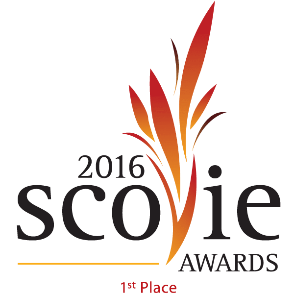 1st Place 2016 Scovie Logo