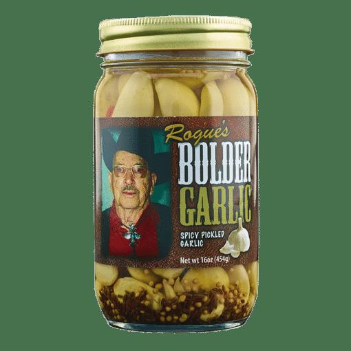 Photo of a jar of Bolder Garlic