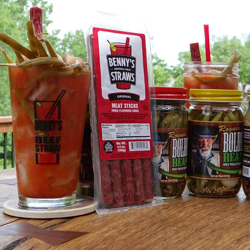 Photo of Bolder Beans with Benny's beef straws