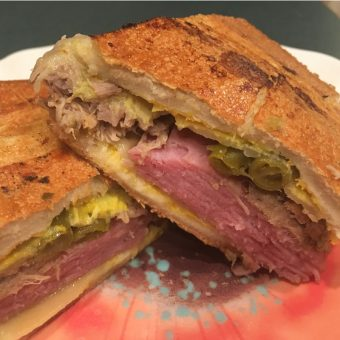 Photo of Cuban sandwich with Bolder Beans