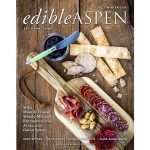 Cover of Edible Aspen Magazine from Winter 2015