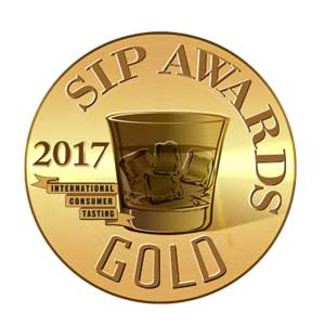 Gold medal from 2017 SIP Awards