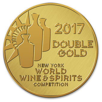 NY World Wine and Spirits Double Gold 2017