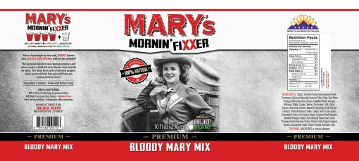Image of Mary's Mornin' FiXXer label 10oz