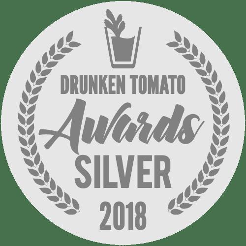 Image of 2018 Drunken Tomato Awards Silver logo