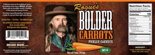 Image of product label for Bolder Carrots