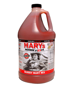 Photo of gallon of Bloody Mary mix by Mary's Mornin' FiXXer