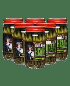 Photo of 6-pack of Bolder Beans jars